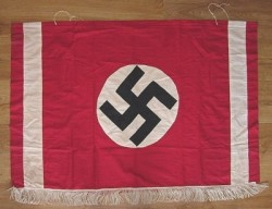 Nazi Podium Banner with Ties...$250 SOLD
