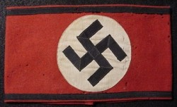 Nazi SS Wool Multi-Piece Armband...$225 SOLD