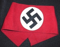 Nazi NSDAP Party Wool Armband with RZM Tag...$175 SOLD