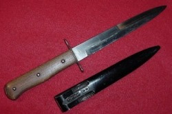 Nazi Luftwaffe Air Crew and Paratrooper Boot Knife...$350 SOLD