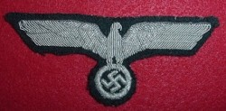 Nazi Army Officer's Bullion Breast Eagle...$60 SOLD