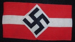 Nazi Hitler Youth Armband...$85 SOLD