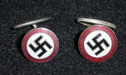 Nazi NSDAP Cufflinks...$130 set SOLD