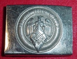 "Nazi Hitler Youth Belt Buckle Marked ""RZM 72""...$80 SOLD"