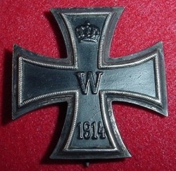 WWI German Iron Cross 1st Class...$195 SOLD