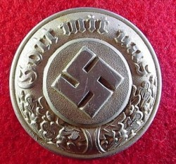 Nazi Police Officer's Belt Buckle...$110 SOLD