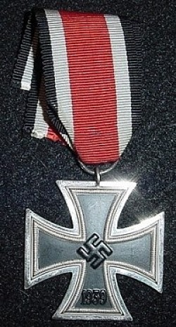 "Nazi Iron Cross 2nd Class with ""15"" Marked Ring...$95 SOLD"