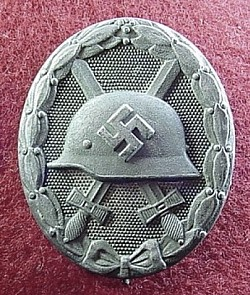 "Nazi Silver Wound Badge Marked ""30""...$75 SOLD"