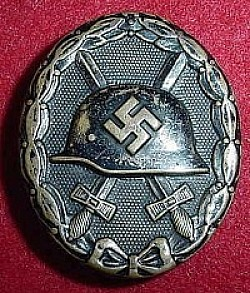 "Nazi Black Wound Badge with LDO Maker Code ""L/53""...$40 SOLD"