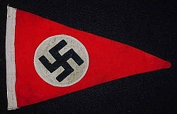 Nazi Double-Sided, Multi-Piece Pennant...$85   SOLD