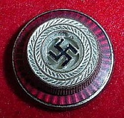 Nazi Political Visor Hat Cockade Device...$39 SOLD