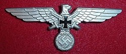 Nazi Veterans' Association Metal Breast Eagle...$45 SOLD