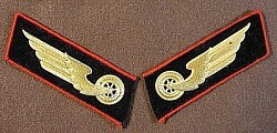 Nazi-Era Reichsbahn 1st Pattern Collar Tabs...$45 pair SOLD