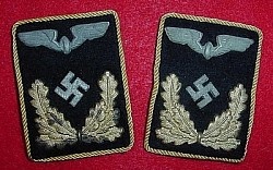 Nazi Reichsbahn Officials' 2nd Pattern Collar Tab Set...$135 SOLD