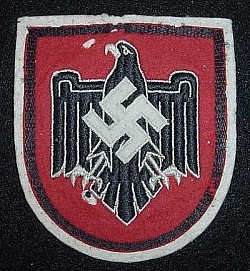 Nazi 1936 German Olympics Team NSRL Breast Insignia Patch...$125 SOLD