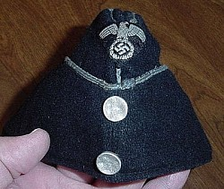 Nazi DAF Werkschar Overseas Cap with RZM Tag...$195 SOLD
