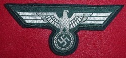 Nazi Army NCO Breast Eagle Patch...$45 SOLD