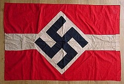 Nazi Hitler Youth Flag/Banner with Pole Sleeve...$495 SOLD
