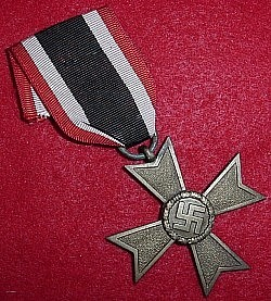 Nazi War Merit Cross 2nd Class without Swords...$35 SOLD