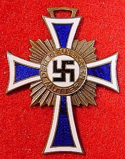 Nazi Mother's Cross in Bronze without Ribbon...$38 SOLD