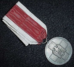 Nazi Social Welfare Medal...$80 SOLD