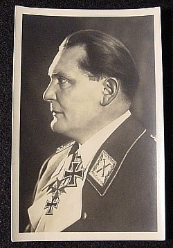 Hermann Goering Picture Postcard by Heinrich Hoffmann...$28 SOLD