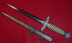 "Nazi Luftwaffe ""Parts"" Dagger...$225 SOLD"