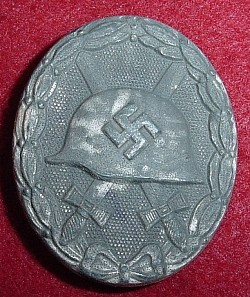 "Nazi Silver Wound Badge Marked ""92""...$75 SOLD"