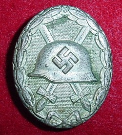 Nazi Silver Wound Badge Marked L/53...$95 SOLD