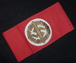 Nazi SA Sports Armband with RZM Tag...$75 SOLD