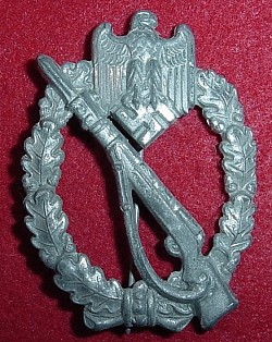 Nazi Silver Infantry Assault Badge...$125 SOLD