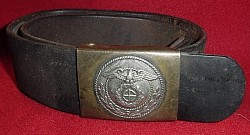 Original Nazi SA Belt and Buckle...$195 SOLD